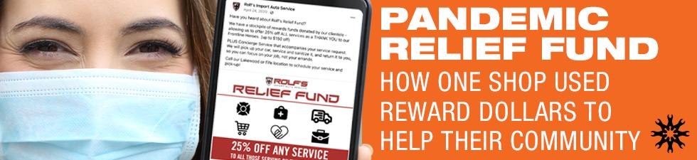 How an Auto Repair Shop Used Reward Dollars to Help Their Community
