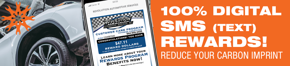 Reduce Your Carbon Imprint with a 100% Digital SMS Rewards Program